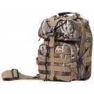 "Extreme Pak 11"" Camouflage Polyester Sling Backpack"