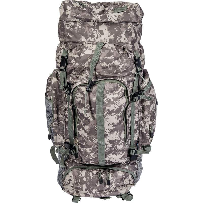Extreme Pak Camouflage Water-Resistant Mountaineer's Backpack