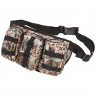 Bullgator Camouflage Waist Bag with 3 Exterior Zippered Pockets