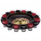 Maxam 16-Shot Roulette Drinking Game Set with Numbered Shot Glasses