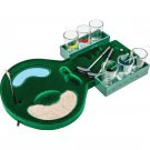 Maxam 6-Shot Drinking Miniature Golf Course Game with Games Rules
