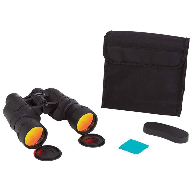Magnacraft 10x50 Binoculars with Glare Reduction Coated Lenses