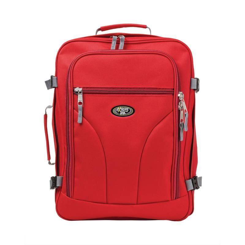"""Red and Black 18"""" Carry-On Bag/Backpack"""