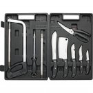 13pc Game Processing Set with Full Tang Stainless Steel Blades
