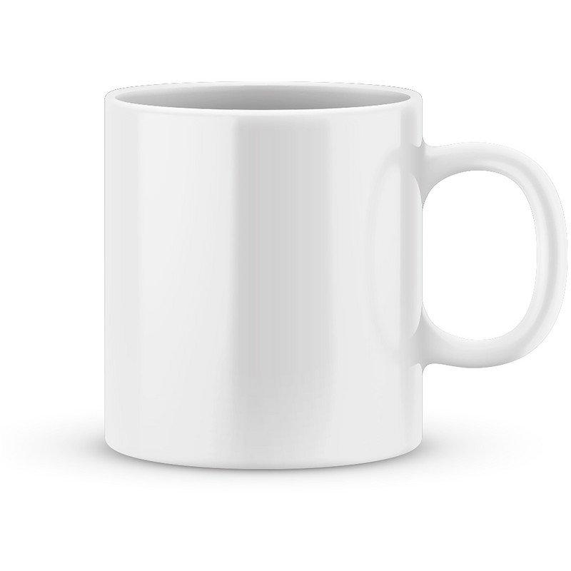 15 OZ Ceramic Sublimation Mug - White Color