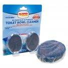 Family Dollar 2pk In-Tank Blue Toilet Bowl Cleaner