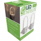 Greenlite 2 Pack LED Nitelite With Dusk To Dawn Sensor