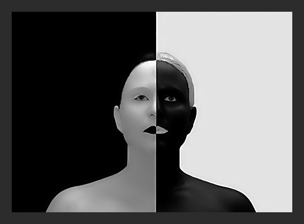 Black or White 5x7