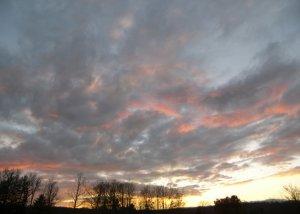 Sunset on the Mountain 5x7