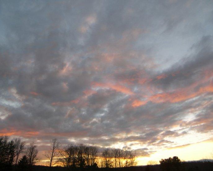 Sunset on the Mountain 8x10