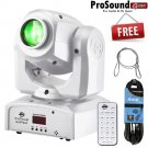 American DJ INNO POCKET SPOT PEARL  with DMX 25ft Cable and Remote Control