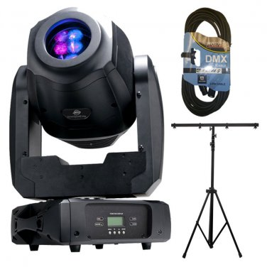 ADJ Products Inno Spot Elite LED Lighting for Stage. W/ Stand and 1 DMX Cables 25FT