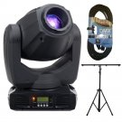 ADJ Products Inno Spot Pro LED Powered Moving Head. W/ 1 DMX 25FT and Light Stand.