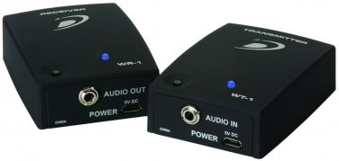 Dayton Audio WS-12 Sub-Link XR 2.4 GHz Wireless Audio Transmitter/Receiver System for Subwoofers