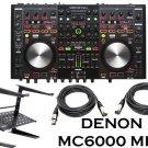 Denon DJ DNMC6000MK2 Professional Digital Mixer and Controller + Free Laptop Stand and XLR Cbales.