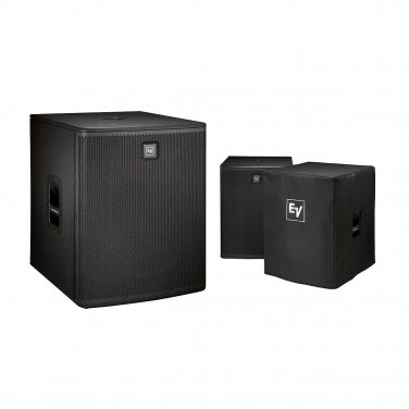 """Electro-Voice ELX118P Active 18"""" Subwoofer and Cover Kit"""
