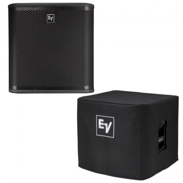 """Electro-Voice ZXA1 (SINGLE)-Sub 12"""" Powered Subwoofer. W/ 1 Cover."""