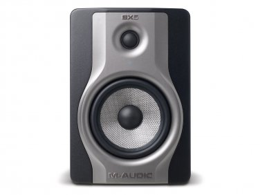 M-Audio BX5 Carbon Single Speaker Compact Studio Monitor for Music Production and Mixing