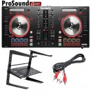 Numark Mixtrack Pro 3 All-In-One DJ Controller for Serato DJ + free laptop stand and RCA cable.