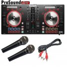 Numark Mixtrack Pro 3 + Free Pair Novik fnk5 Mic and Cable