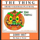eBook (PDF) THE THING - DROID VOLLEYBALL PLAY BOOK