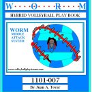 eBook (PDF) Hybrid  - Worm Middle Volleyball Play Book