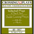 eBook (PDF) EB-40-007 DOUBLE CROSSING Volleyball Plays