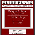 eBook (PDF) EB-50-007 SLIDE Volleyball Plays