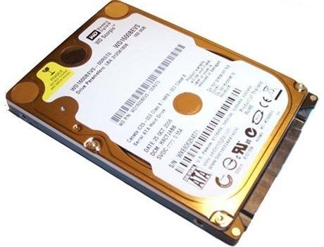 """250GB 5400 RPM WDC SATA SCORPIO WD2500BEVS 2.5"""" Laptop"""