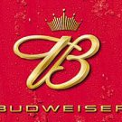 Metal Sign - Budweiser - Crown Logo