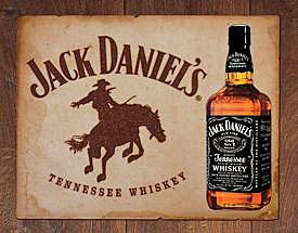 Metal Sign - Jack Daniel's - Bronco