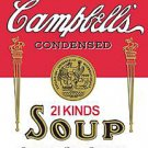 Metal Sign - Campbell's Soup Label