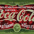 Metal Sign - Coca Cola - 1900's 5 Cent