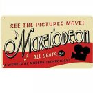Metal Sign - Nickelodeon - See The Pictures Move
