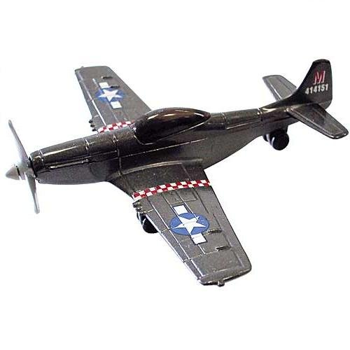 "P-51 Mustang 4.5"" Diecast Model"