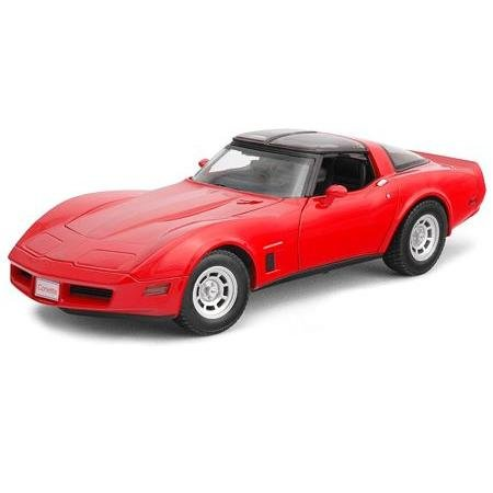 Welly 1982 Chevrolet Corvette Coupe Diecast Model 1:18