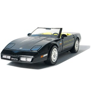 GreenLight Collectibles 1986 Black Corvette Indy 500 1/24 Pace Car Pace Car Garage Series