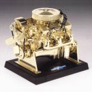 Bronze Plated Chevy Small Block V-8 1/6 Engine by Liberty Classics