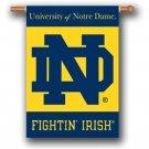 Notre Dame 28x40 Banner -96036