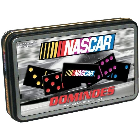 NASCAR Dominoes in a Tin by USAopoly 2005