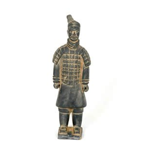 Terra Cotta Warrior Statue - 38 inch (100 cm)