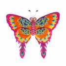 Silk Butterfly Kite - Pink - 60 inch