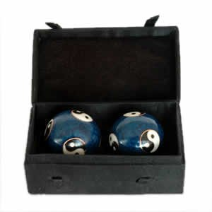 Chinese Health Balls, Cloisonne - Bagua (44mm)