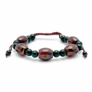 Tibetan Bracelet - dZi Beads - Style 11