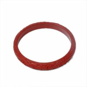 "Cinnabar Bracelet - 3.5"" x .5"""