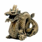 Gold Chinese Dragon - 4 inch