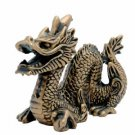 Gold Chinese Dragon - 6 inch