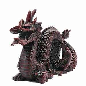 Red Chinese Dragon - 4 Inch