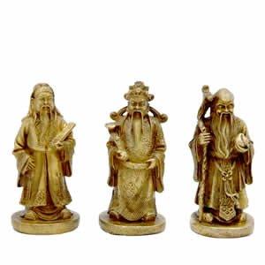 Three Immortals Set - Brass 2.5 inch