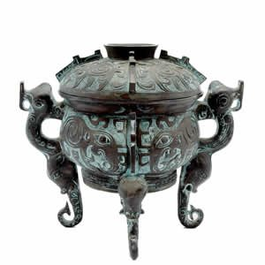 Incense Burner - Ornate Temple